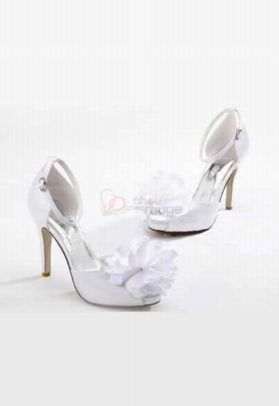 c01d9459e88 chaussure de mariee nacre